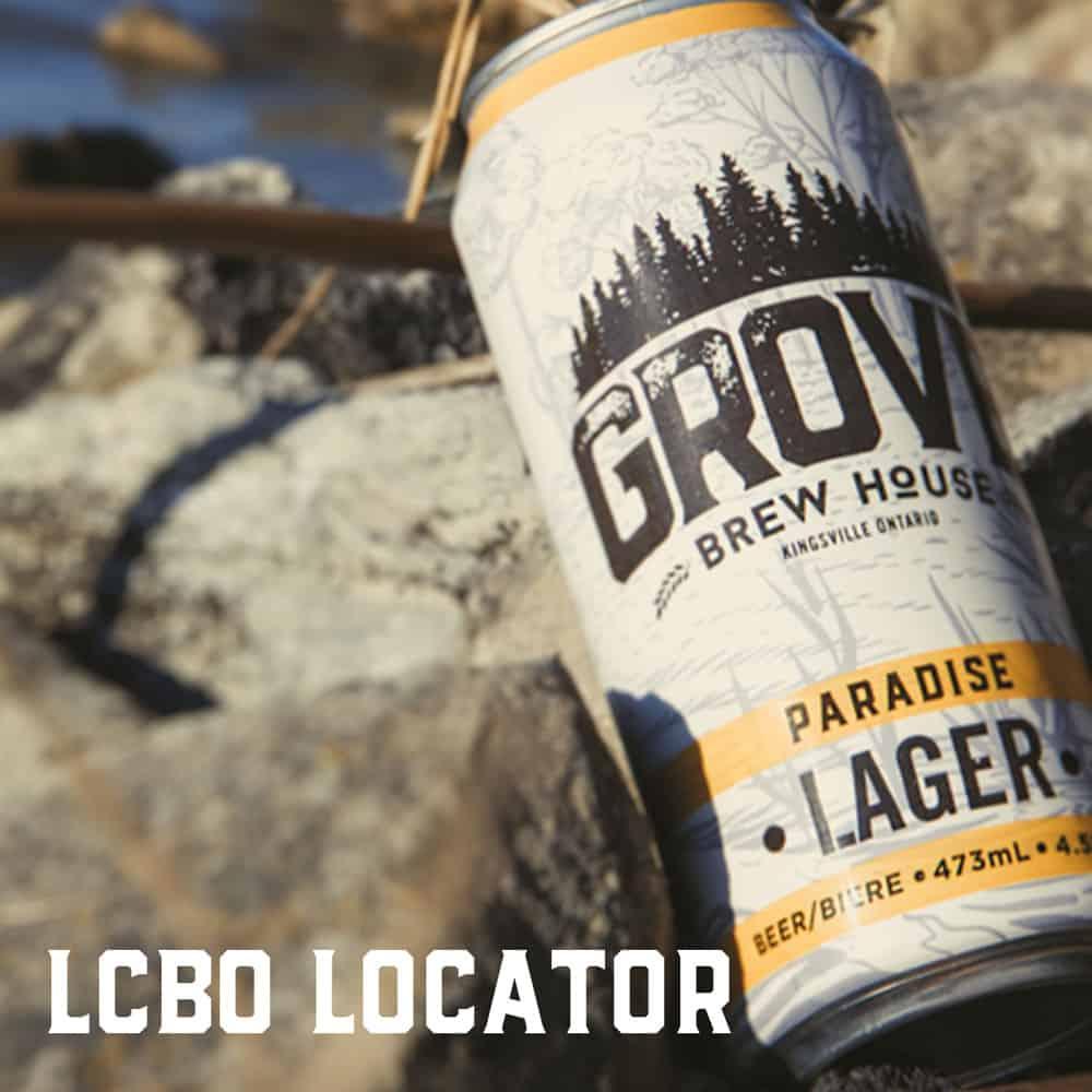 paradise lager lcbo kingsville